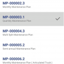 Select Multiple Maintenance Plans